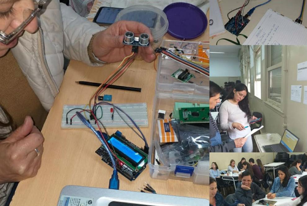 Docentes de escuelas técnicas se capacitaron en Saberes Digitales