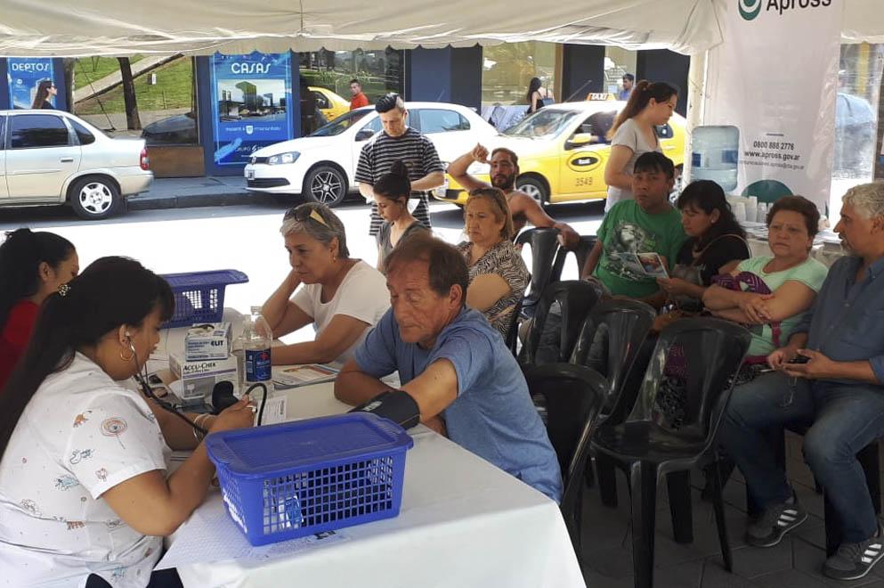 Más de 650 cordobeses participaron de la Semana de la Diabetes