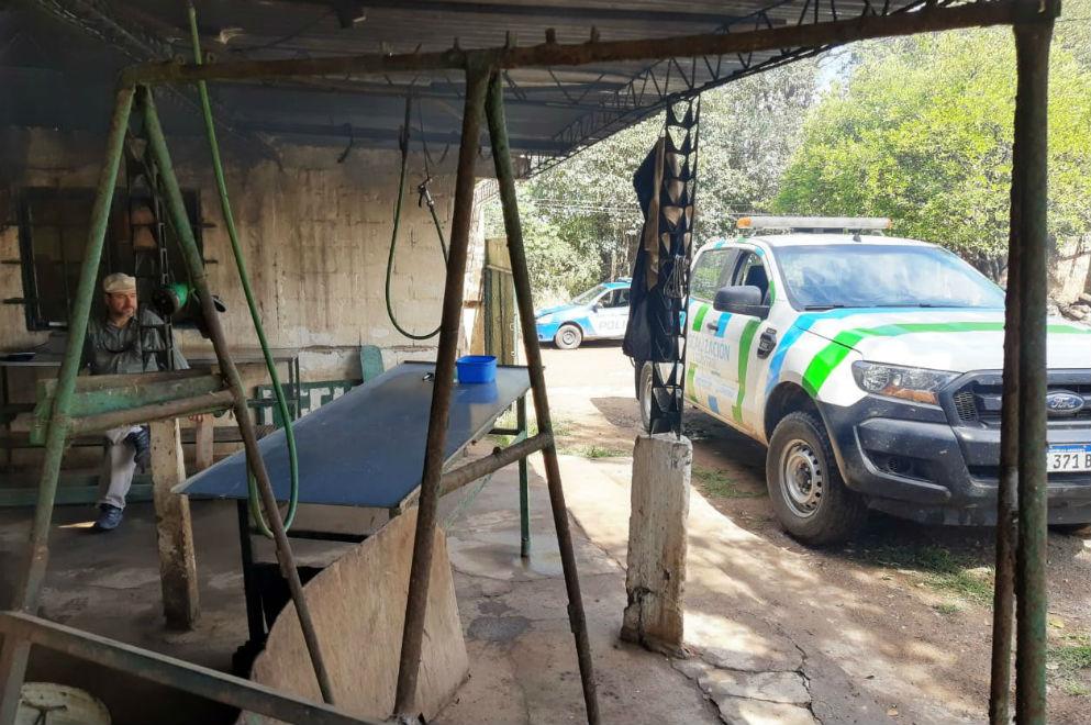 Faena clandestina: clausuran establecimientos en zona sur