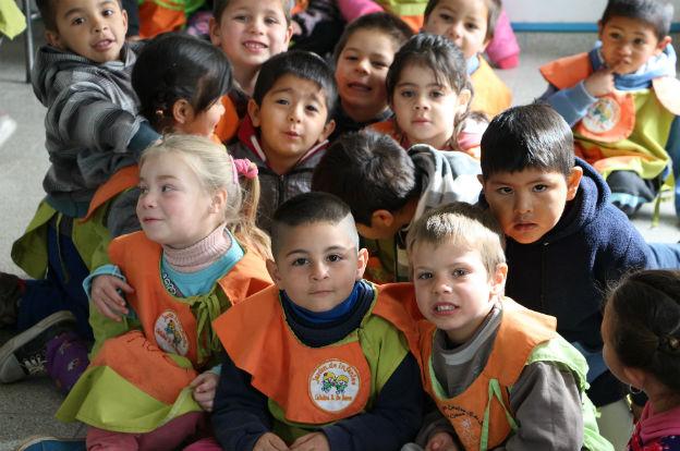 Plan aurora inauguraron ampliaciones en escuelas del for Jardin los cedros