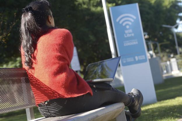 La Plaza de la Familia, con acceso gratuito a Internet