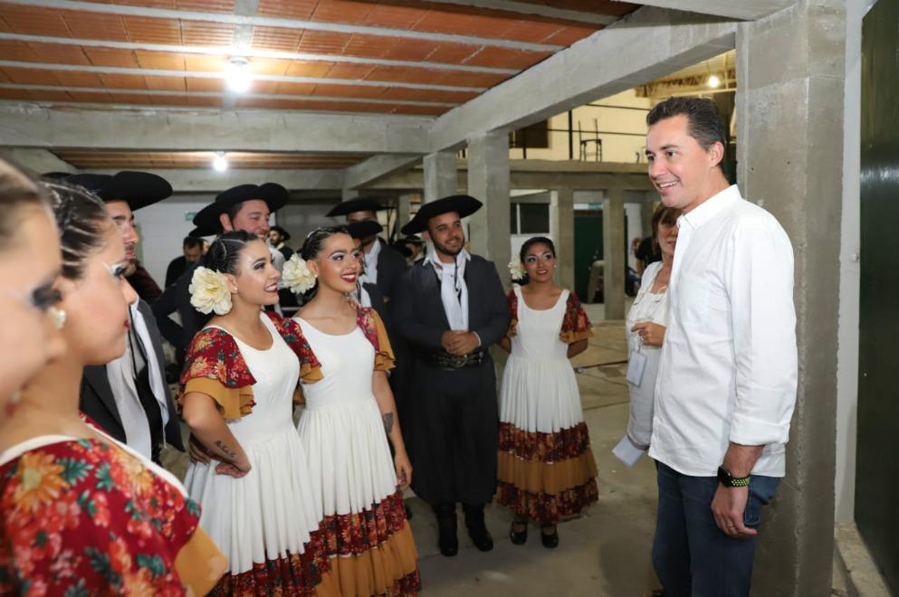 El vicegobernador Manuel Calvo participó del Festival Nacional del Malambo