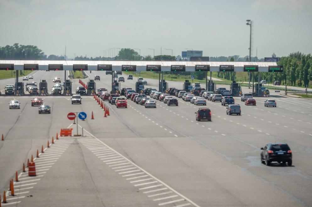Más de 3 millones de vehículos circularon por la RAC durante la primera quincena de enero