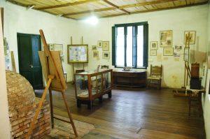 Casa Museo Fernando Fader, vista interior