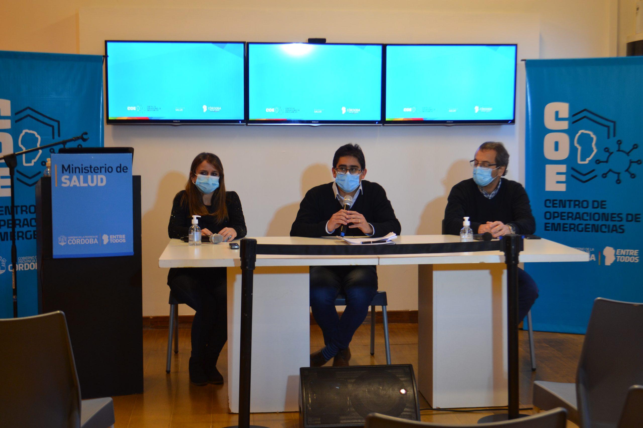 Cardozo presentó el informe sobre la situación epidemiológica