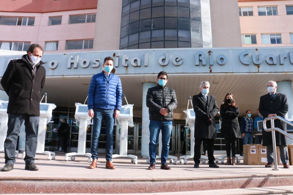 Más equipamiento médico para el Hospital de Río Cuarto