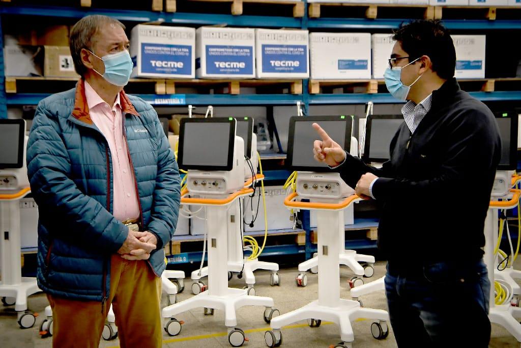La Provincia incorporó 45 nuevos respiradores