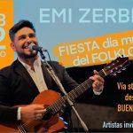 22 a las 17 dia del folklore con emiliano Zerbini - Cultura en casa: 14 propuestas para disfrutar en familia